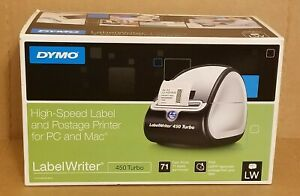 Dymo High speed Label And Postage Printer Label Writer For Pc And Mac 450 Turbo