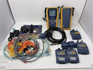 Fluke Networks Dtx 1200 W Modules Sfm Mfm2 Certifier Cable Tester Analyzer