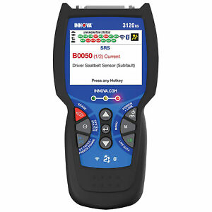 Innova Fixassist Bluetooth Code Reader Vehicle Diagnostic Scanner Tool used
