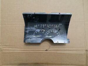 92 94 Chevy gmc Full Size Truck Instrument Cluster