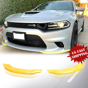 Front Bumper Lip Splitter Spoiler For Dodge Charger Srt Scat Pack 15 2019 Us