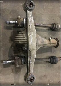 Turbo Ii Mazda Differential Rx7 86 91 Fc3s With 2 Cv Axle Original Pictures