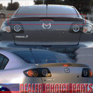 2004 2005 2006 2007 2008 2009 Mazda 3 Factory Style Lip Spoiler Wing Unpainted