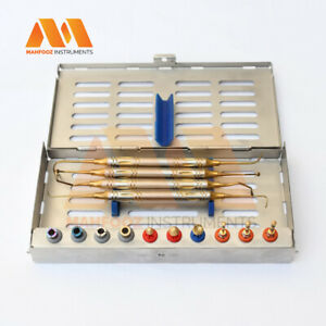 Dental Implant Lateral Approach Sinus Lift Diamond Burs Drills Stoppers Kit