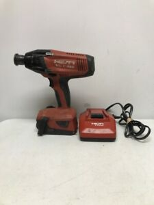 Hilti Sid 8 a22 22v Impact Driver W 5 2 Battery And Charger Kit ue pds016371