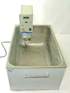 Large Fisher Scientific Water Bath W Isotemp 2150 Circulator Heater Tested