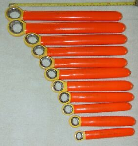 Cementex 1000v Insulated 12 Piece Box End Wrench Set 7 16 To 1 1 8