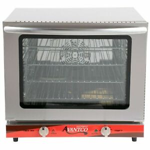 New Avantco Commercial Oven Convection Electric Half Size Countertop Restaurant