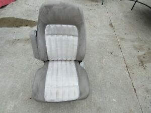 88 94 Chevy Gmc Truck Suburban Tahoe Yukon Lh Gray Power Bucket Seat