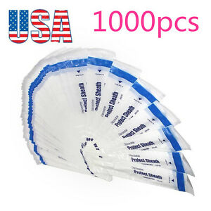 1000pc Dental Disposable Endoscope Sleeve Sheath Cover For Intraoral Oral Camera
