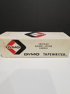 Vtg Dymo Tapewriter Hand Embossing Tool Label Maker Model M 11 M11 With Extras