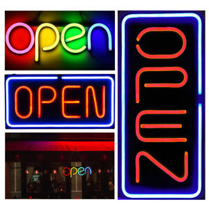 Various Styles Neon Open Sign Led Light For Business Wall Windows Bar Hotel Shop