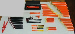 Insulated Electrical Tools 66 Pc Assorted 1000 Volt Cementex Compositool Cip