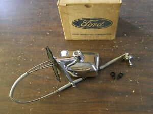 Nos Oem Ford 1972 1977 Torino Montego Chrome Remote Mirror 1973 1974 1975 1976
