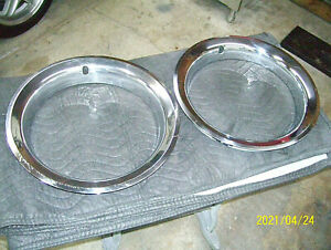 Chevy Rally Trim Rings Used 15 X 7