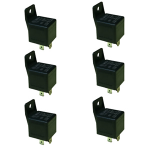 6 Pack Western Unimount Replacement Relay Pair 61535 Snow Plow Wiring Harness