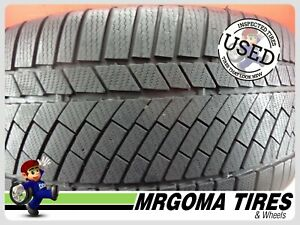 1 Continental Contiwintercontact Ts830p No 285 40 19 Used Tire 80 Rmng 2854019