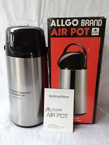 2 5 Liter Air Pot Allgo Brand Stainless Steel Great Condition