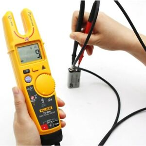 Fluke Voltage Clamp meter Continuity Digital Current Clamp Meter With Soft Case