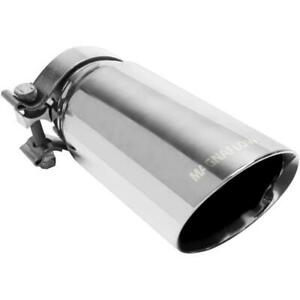 Magnaflow Single Exhaust Tip 3in Inlet 3 5in Outlet Part No 35211