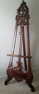 Antique Display Easel Early 1900s Beautifully Detailed