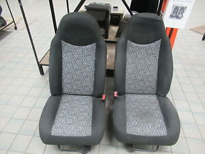 98 03 Ford Ranger Regular Cab Cloth Front Bucket Seats Pair