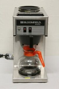 Bloomfield 2 burner Commercial Coffee Maker Brewer Model 8543 E6