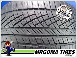 1 Continental Extremecontact Dws06 Spt Xl 285 30 19 Used Tire 77 Rmng 2853019