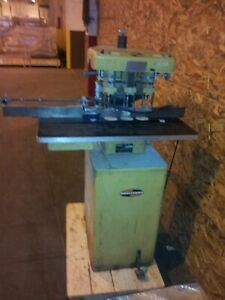 Challenge Eh 3a 3 hole Paper Drill W Indexing Side Guide