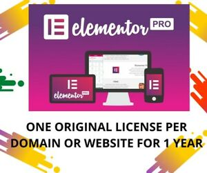 I Will Install Original Elementor Pro 100 For One Year Update