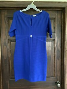 Cache Large Blue Dress Form Fitting