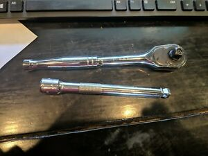 Gearwrench 81218 3 8 In Drive Teardrop Ratchet And 6 Wobble Extension