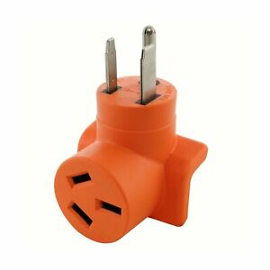 Ac Works wd6501050 6 50p Welder Plug To 10 50r 3 prong 50a 125 250 Volt Old