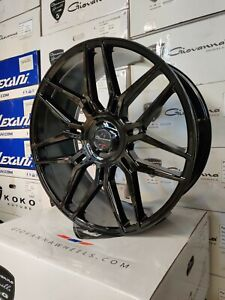 Giovanna Bogota Black Wheels 24x10 For Any Car suv Hre Adv 1 Ag Vossen Brixton