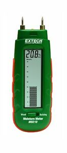 Extech Mo210 Pocket Size Moisture Meter With 2 in 1 Digital Lcd Readout And A