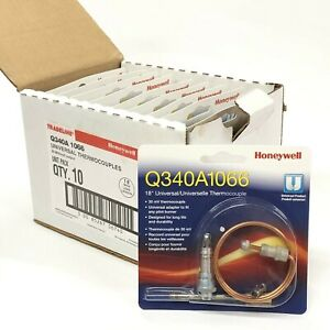 10 Packs Of Tradeline Q340a 1066 Universal Thermocouples New Honeywell