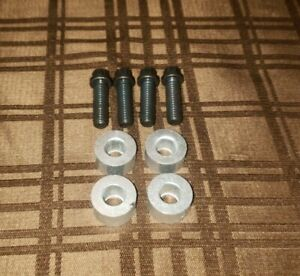New Jeep Front Seat Spacer Mounting Bolts Cj5 Cj7 Scrambler Made In Usa