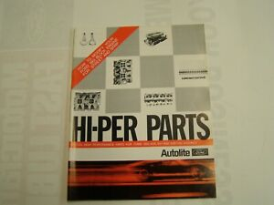 Nos Oem Ford 1969 Autolite High Performance Parts Data Book 427 428 Cobra Jet