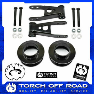 3 Front 2 Rear Leveling Lift Kit 1998 2011 Ford Ranger 2wd Rwd Coil Shackle