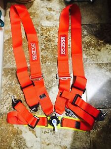 Sparco 3 4 Point Harness Seat Belt For Racing