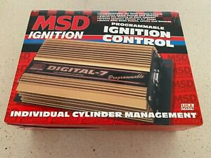 Brand New Msd 7530 Digital 7 Programable Ignition Box