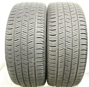 Two Used 225 45r18 2254518 Continental Conti Pro Contact Ssr Bmw 6 6 5 32 1m02