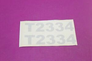 Nos Montana T2334 Tractor Decals Acquired From A Closed Dealership See Pic
