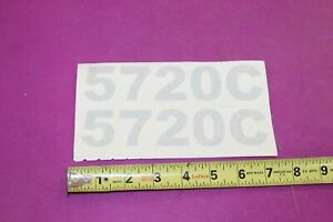 Nos Montana 5720c Tractor Decals Acquired From A Closed Dealership See Pic