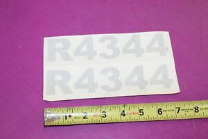 Nos Montana R4344 Tractor Decals Acquired From A Closed Dealership See Pic