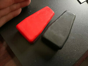 Pair Allstar Battery Terminal Boot Set Top Post Cover Rubber Black Red New Sd Hd
