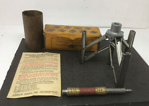 Ammco Model 3800 Cylinder Hone In Box W Paperwork Free Ship Vintage Tool
