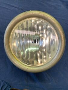 Model T Ford Headlight 1926 1927 Script Stainless Rim Rat Rod