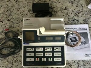 Chattanooga Intelect Legend 2 Channel Combo Ultrasound 2c With Applicator