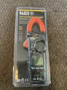 Klein Tools Cl110 Clamp Meter Digital Ac Auto ranging Tester 400 Amp